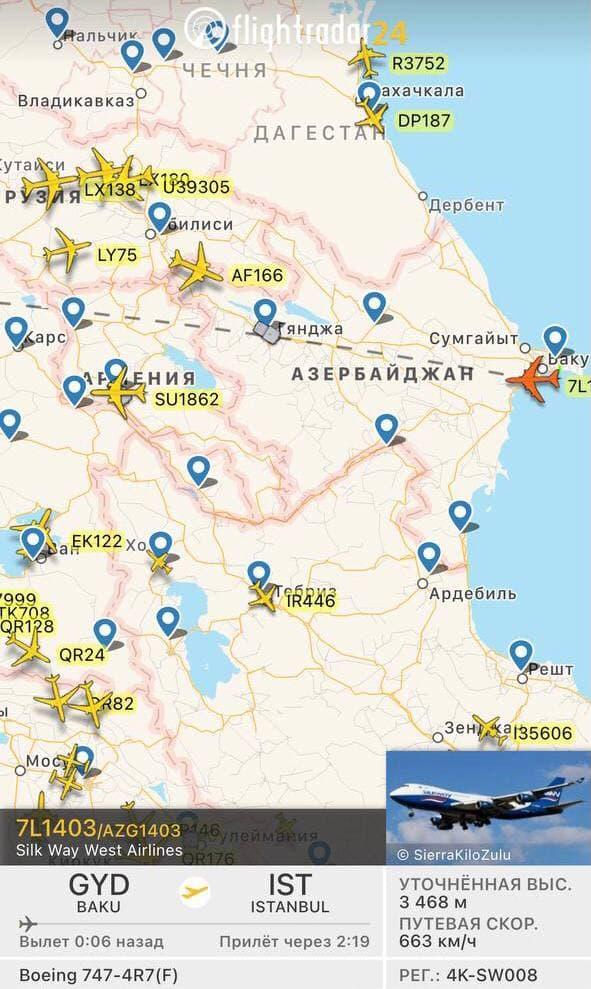 Photo of «ՀՀ օդային տարածքով տեղի ունեցած Ստամբուլ-Բաքու թռիչքի մասին». Հակոբ Ճաղարյան
