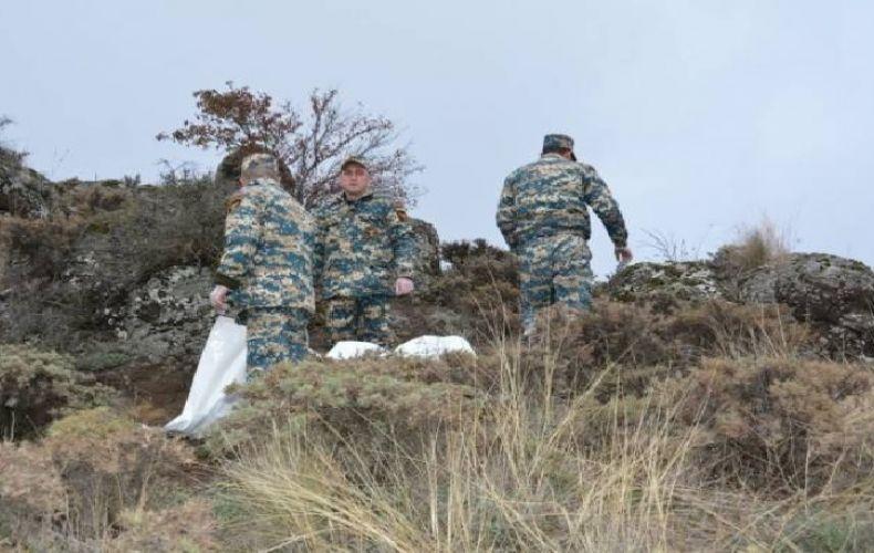 Photo of Ռազմական գործողությունների գոտում շարունակվել են որոնողական աշխատանքները