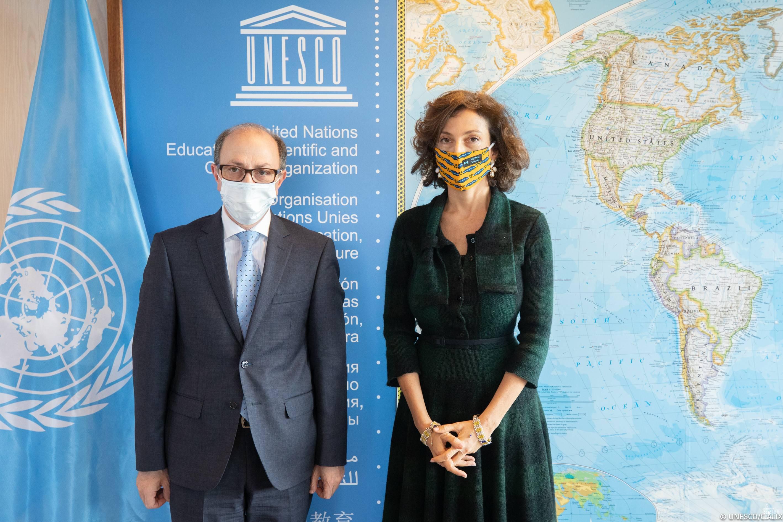 Photo of ԱԳ նախարար Արա Այվազյանի հանդիպումը ՅՈՒՆԵՍԿՕ-ի Գլխավոր տնօրեն Օդրի Ազուլեի հետ