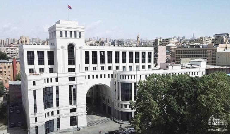 Photo of Действия Баку делают  деоккупацию территорий Арцаха императивом. МИД  Армении