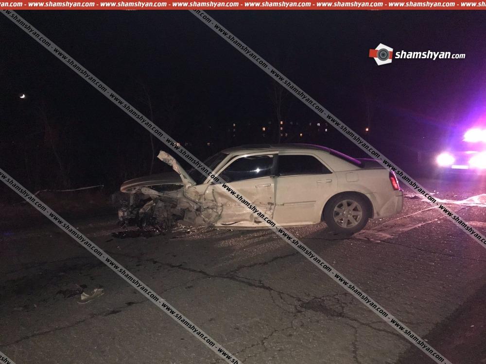 Photo of Ողբերգական ավտովթար Շիրակի մարզում. բախվել են Chrysler–ն ու Opel Vectra-ն. կա 1 զոհ, 1 վիրավոր
