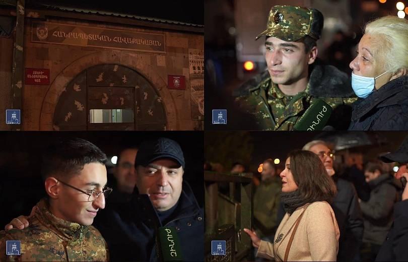 Photo of Ոգով ուժեղ էինք. պատերազմին մասնակցած ժամկետային զինծառայողները վերադարձան Արցախից
