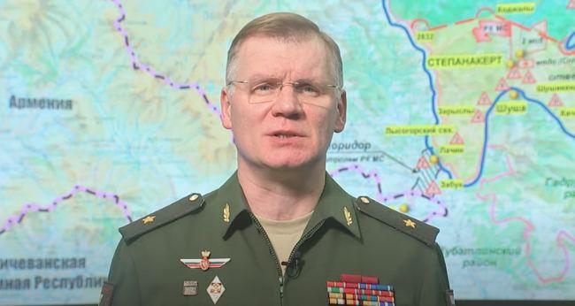 Photo of Брифинг официального представителя Минобороны России по ситуации в Нагорном Карабахе