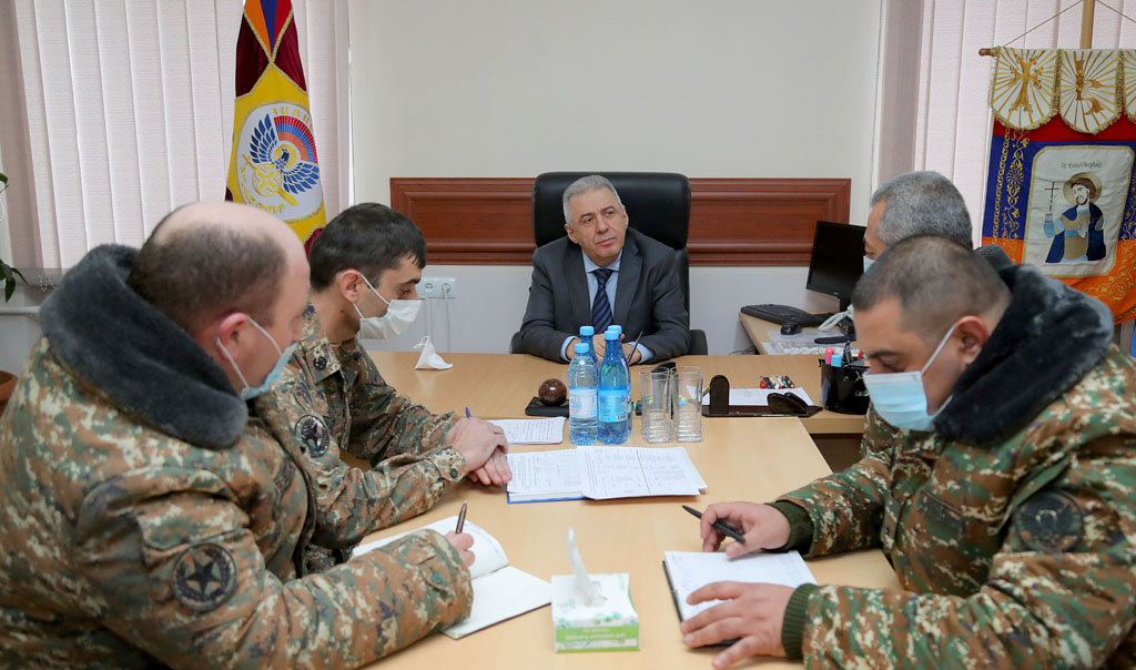 Photo of ՀՀ պաշտպանության նախարարն այցելել է 5-րդ զորամիավորում