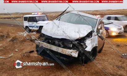 Photo of Ավտովթար Շիրակի մարզում. 24-ամյա վարորդը Nissan Tiida-ով բախվել է քարերին. վարորդը տեղափոխվել է հիվանդանոց