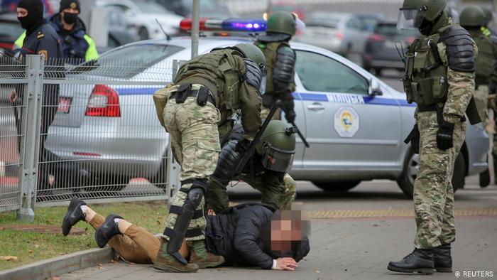 Photo of Беларусь: более 160 задержанных в ходе протестов