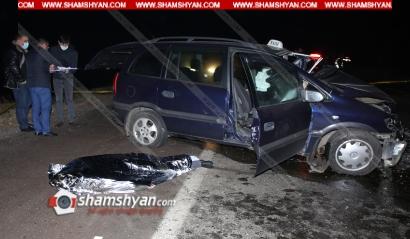 Photo of Խոշոր ավտովթար Կոտայքի մարզում․ Չայնիի ոլորաններում բախվել են Hyundai Sonata-ն և 2 Opel-ները. կա 1 զոհ, 1 վիրավոր