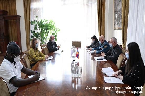 Photo of Անդրանիկ Փիլոյանն ընդունել է Հայաստանում ՄԱԿ-ի Մանկական հիմնադրամի ներկայացուցչին