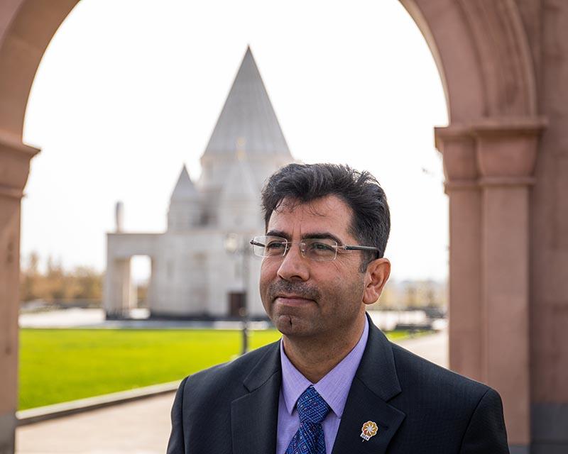 Photo of 2019 թ. «Ավրորա» մրցանակի դափնեկիր Միրզա Դինայիի այցը Հայաստան