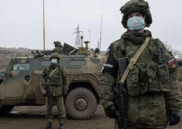 Photo of На участке Воротан-Давид-Бек армянские и азербайджанские пограничники проводят работы по размещению приграничных постов. СНБ