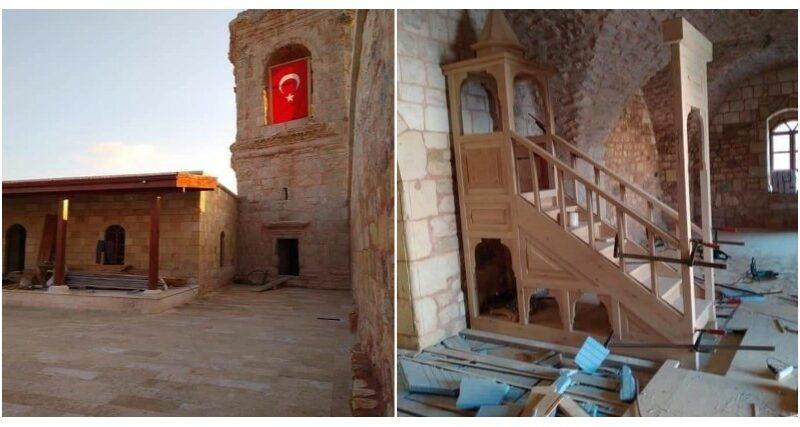 Photo of Турция превращает археологическую святыню Кира в Африне в мечеть