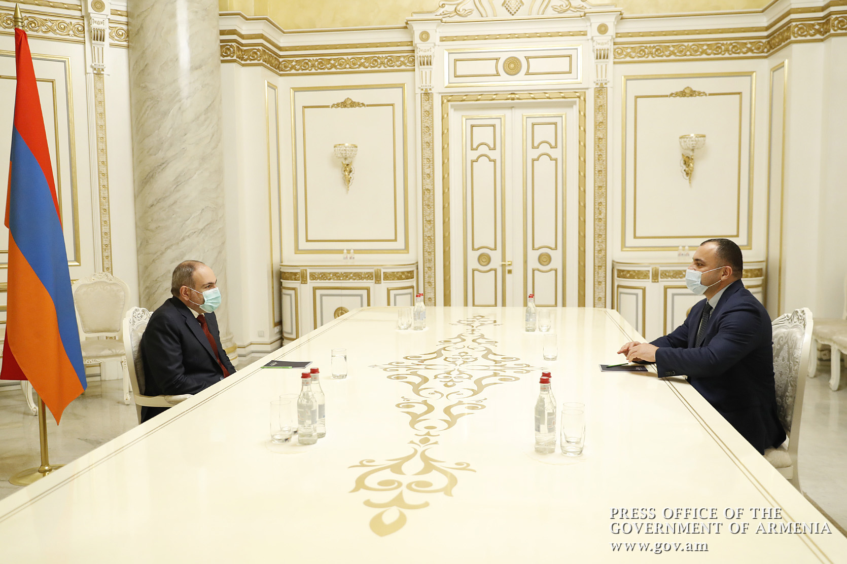 Photo of Վարչապետը հանդիպում է ունեցել ՍԴ նորընտիր նախագահի հետ
