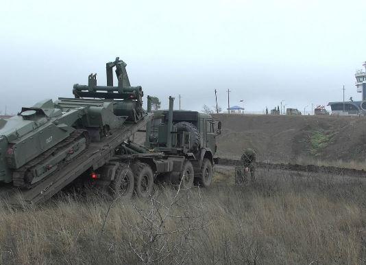 Photo of ՌԴ խաղաղապահները Ստեփանակերտի օդանավակայանի ականազերծման ժամանակ «Ուրան-6» են օգտագործել