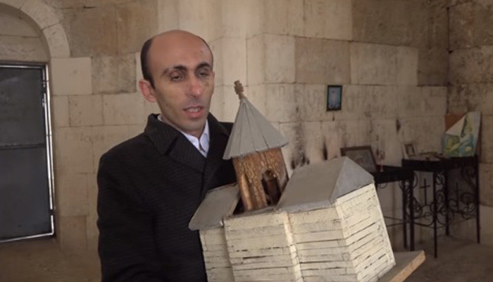 Photo of «Սպիտակ Խաչ եկեղեցին լքելուց առաջ հավաքեցինք բոլոր սրբապատկերները, քանդակները, խաչքարերը». Արտակ Բեգլարյան