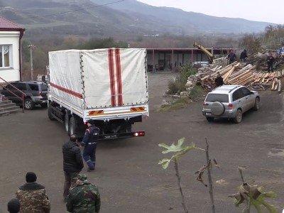 Photo of ՌԴ ԱԻՆ-ը Լեռնային Ղարաբաղ տեղափոխված մարդասիրական օգնությունը հասցրել է հասցեատերերին