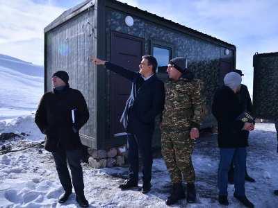 Photo of ՄԻՊ-ի աշխատանքային խումբը Գեղարքունիքի սահմանային գյուղերում է