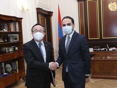 Photo of Ավինյանը Չինաստանի դեսպանի հետ քննարկել է հայ-չինական «Շանսի-Նաիրիտ» համատեղ ձեռնարկության աշխատանքը