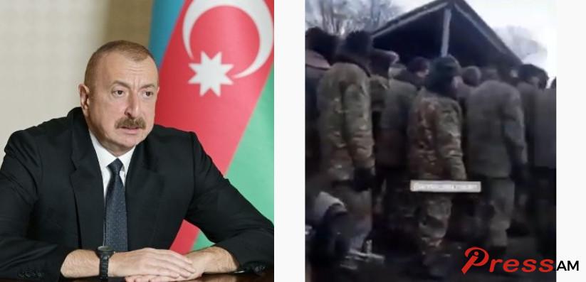Photo of Многие армянские военнослужащие арестованы, но их «не следует считать военнопленными». Алиев
