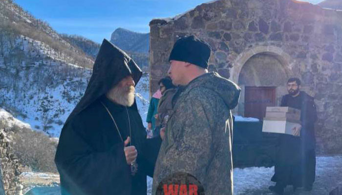 Photo of Պարգև Սրբազանն այցելել է Դադիվանք