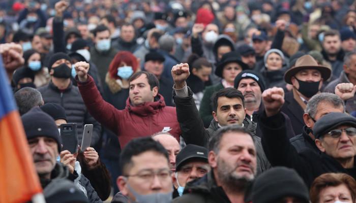 Photo of Митинг с требованием отставки Пашиняна