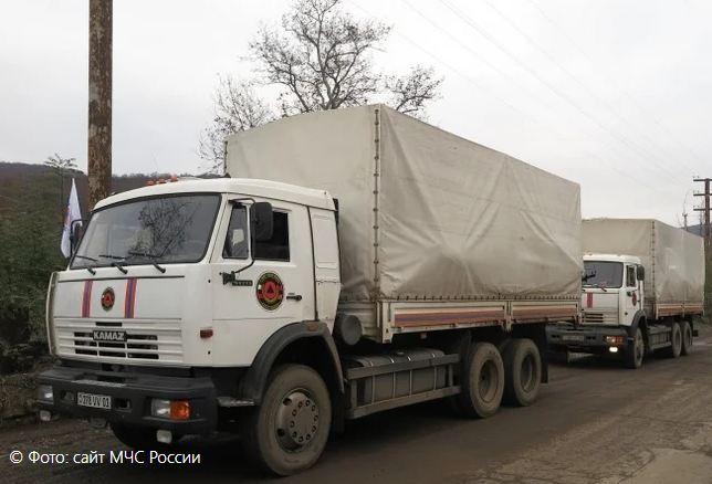 Photo of В Арцах доставлена очередная партия российской гуманитарной помощи