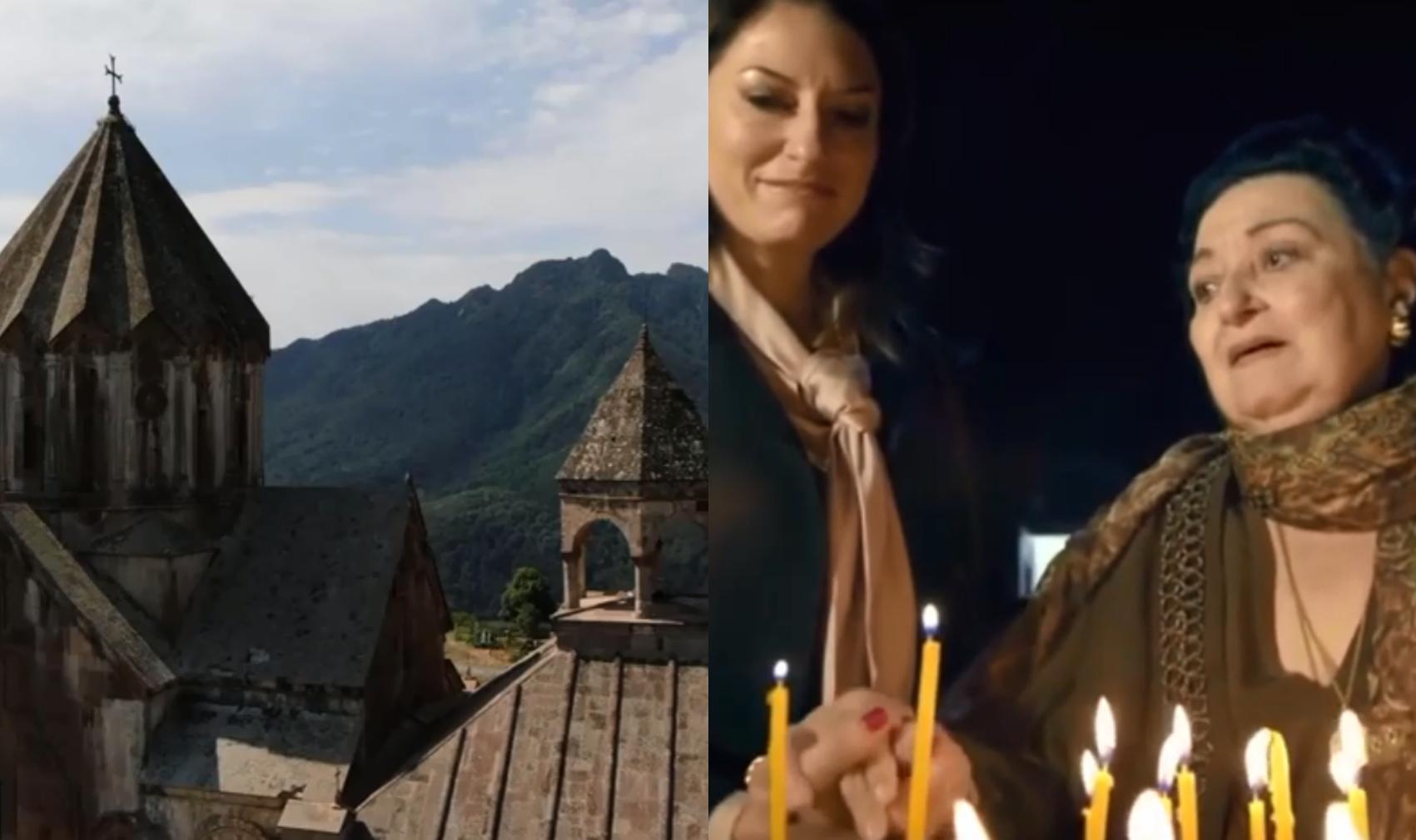 Photo of Монтсеррат Кабалье заклинала оставить ее  одну перед величием и духовностью Гандзасара.