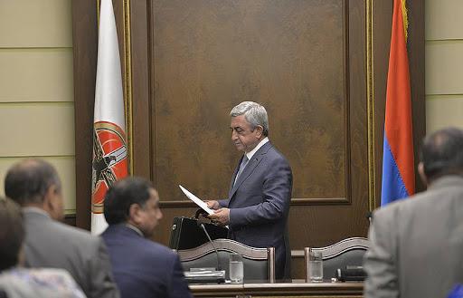 Photo of Տեղի է ունեցել ՀՀԿ գործադիր մարմնի նիստը՝ Սերժ Սարգսյանի նախագահությամբ
