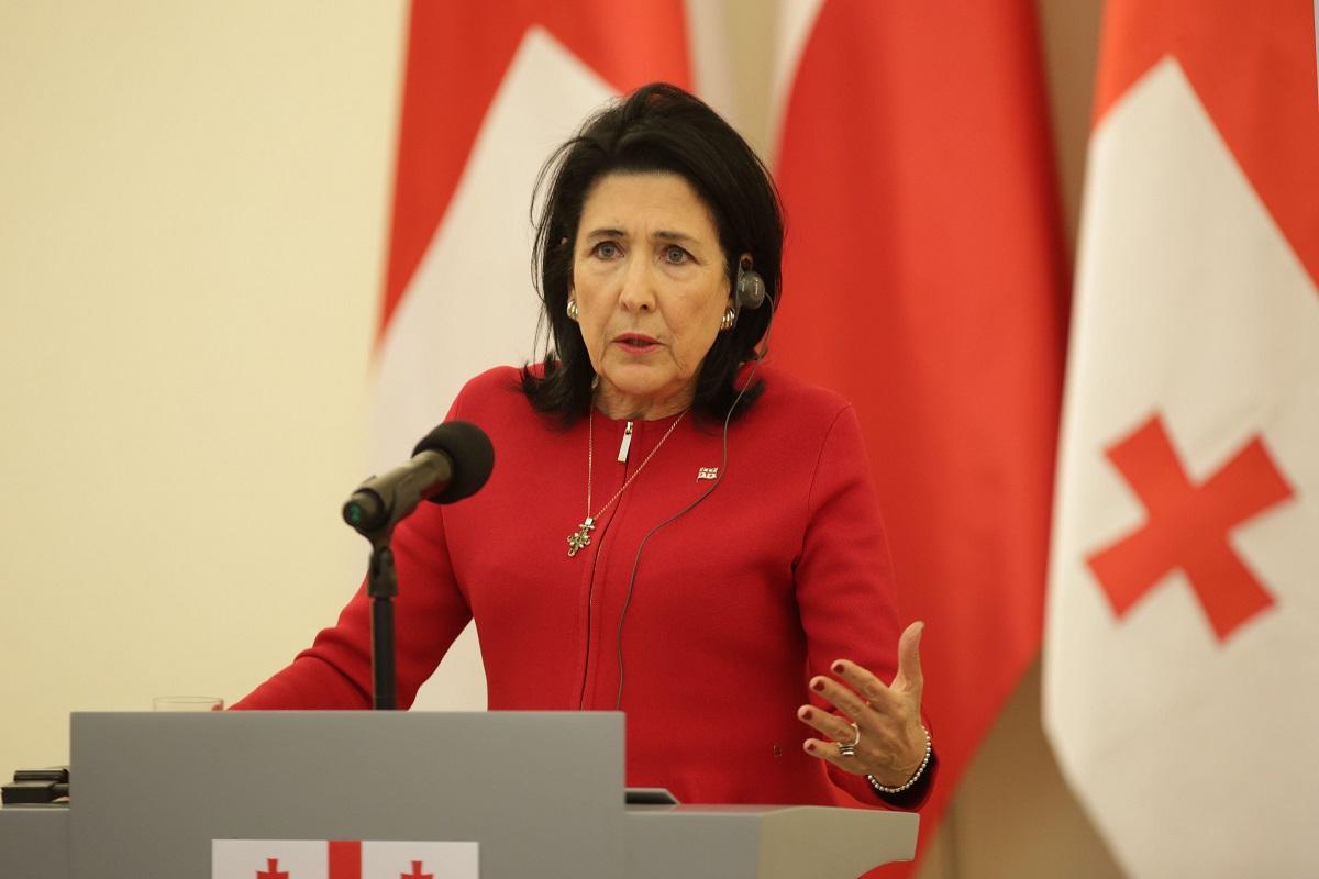 Photo of Վրաստանի նախագահը «Կովկասյան խաղաղության հարթակ» ստեղծելու նախաձեռնությամբ է հանդես եկել