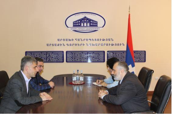 Photo of Արցախի ԱԳՆ ղեկավարն ընդունել է ՀՅԴ Հայաստանի Գերագույն մարմնի և Արցախի Կենտրոնական կոմիտեի ներկայացուցիչներին