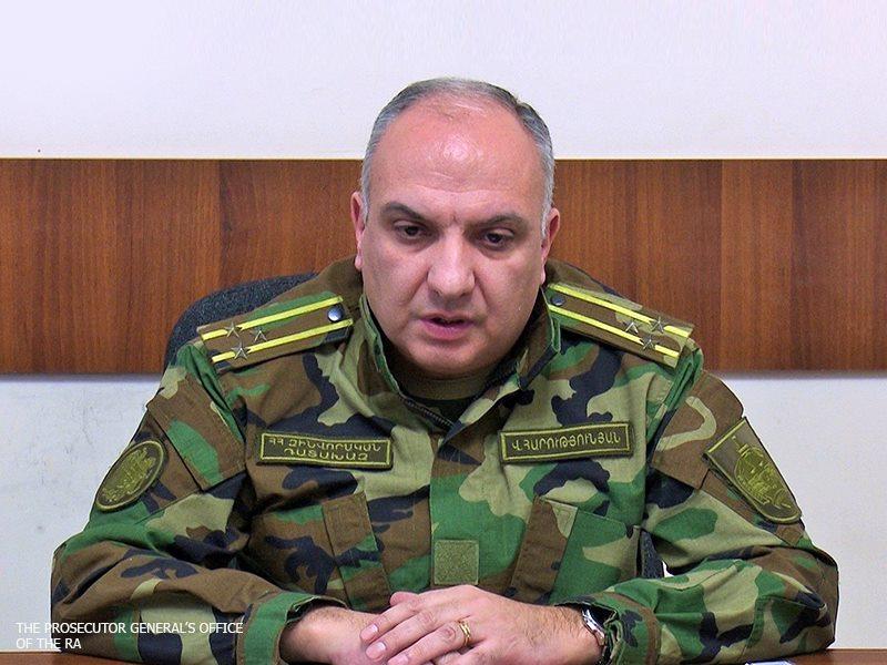 Photo of Военный прокурор Армении провел встречу с представителями прокуратуры РФ в Арцахе
