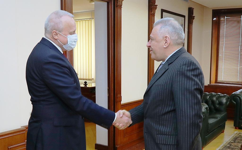 Photo of ՀՀ-ում ՌԴ դեսպանն այցելել է պաշտպանության նախարարություն