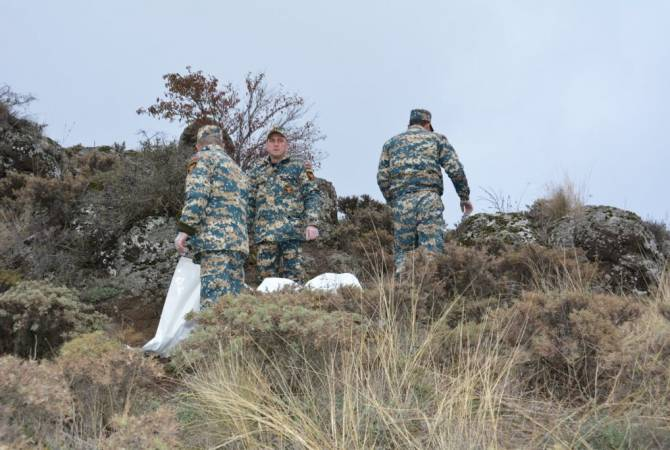 Photo of Ջաբրայիլի դիրքերում եւս 3 հայ զինծառայողի աճյուն է հայտնաբերվել եւ դուրս բերվել. Արցախի ԱԻՊԾ