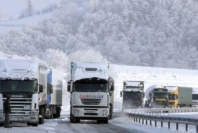 Photo of ՀՀ տարածքում կան փակ և դժվարանցանելի ավտոճանապարհներ, Լարսի ՌԴ կողմում կուտակվել է 340 բեռնատար