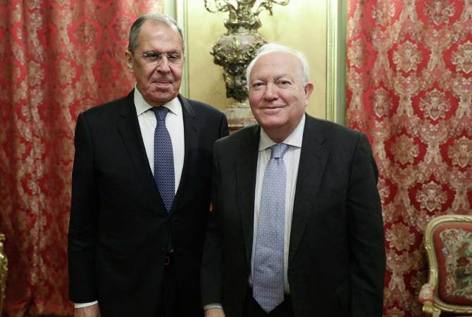 Photo of Лавров встретился с представителем генсека ООН Моратиносом