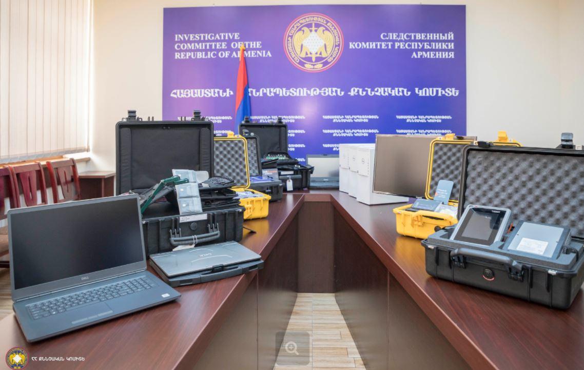 Photo of ՀՀ քննչական կոմիտեի համակարգչատեխնիկական լաբորատորիան համալրվել է գերժամանակակից սարքավորումներով, համակարգչային համակարգերով և ծրագրային ապահովումներով