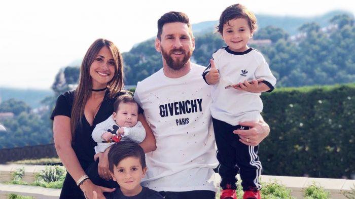 Photo of Как сыновья Месси празднуют гол отца