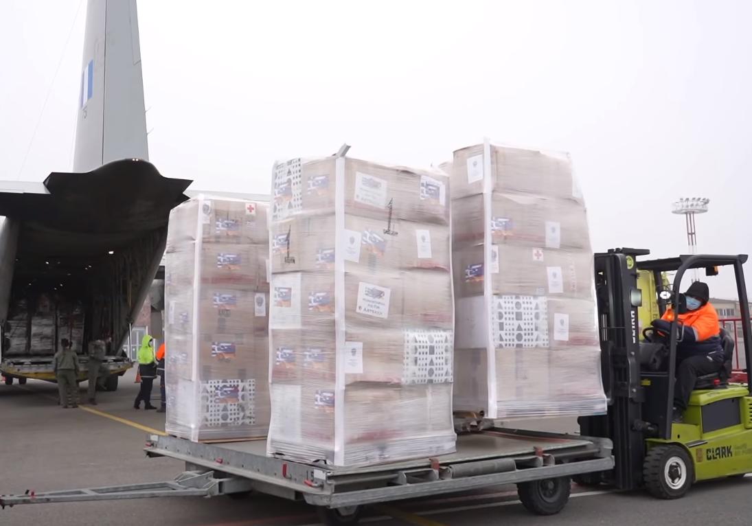Photo of Հունաստանից Հայաստան է ժամանել հումանիտար օգնություն տեղափոխող երկրորդ ինքնաթիռը