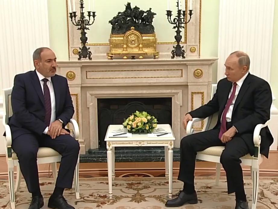 Photo of ՀՀ վարչապետ Նիկոլ Փաշինյանի հանդիպումը ՌԴ նախագահ Վլադիմիր Պուտինի հետ