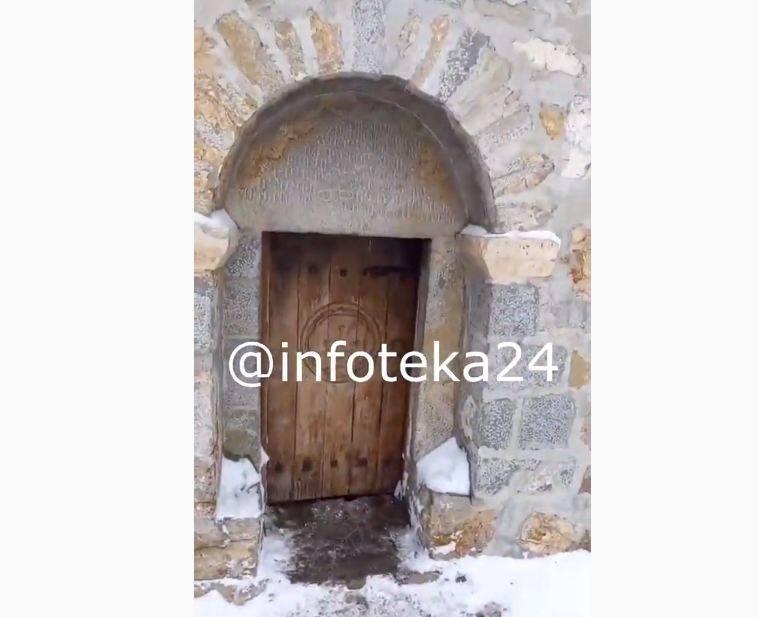 Photo of Ադրբեջանցի բարբարոսները պղծել են նաև Հադրութի շրջանի Դիզափայտ լեռան գագաթին գտնվող վանքը