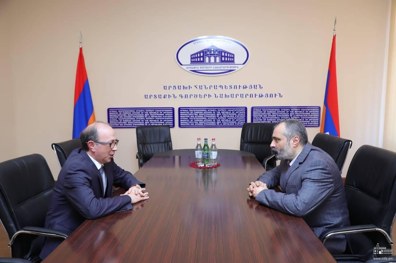 Photo of Встреча министров иностранных дел Республики Арцах и Республики Армения