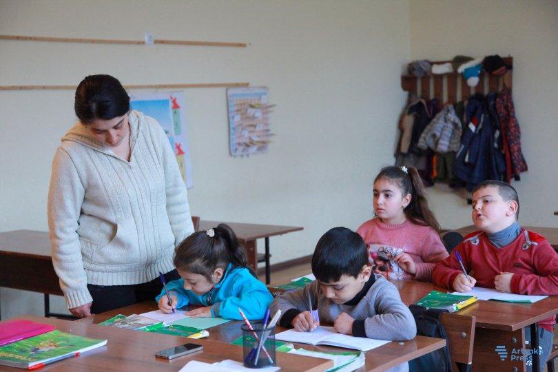 Photo of В общине Кармир Шука Арцаха возобновился учебный процесс