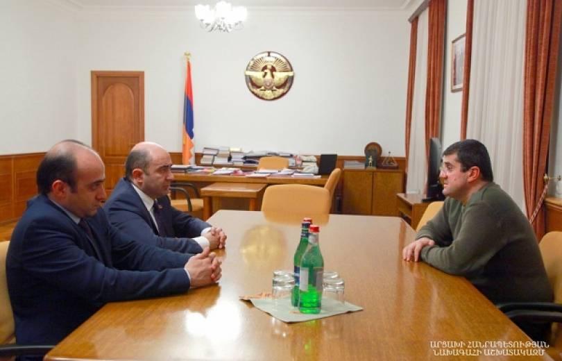 Photo of Արցախի նախագահ Արայիկ Հարությունյանն ընդունել է ՀՀ ԱԺ «Լուսավոր Հայաստան» խմբակցության պատվիրակությանը