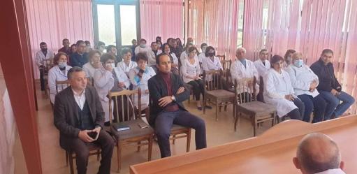Photo of Արցախ ժամանած բժիշկ-փորձագետներն այցելել են Մարտունու և Ասկերանի բուժմիավորումներ