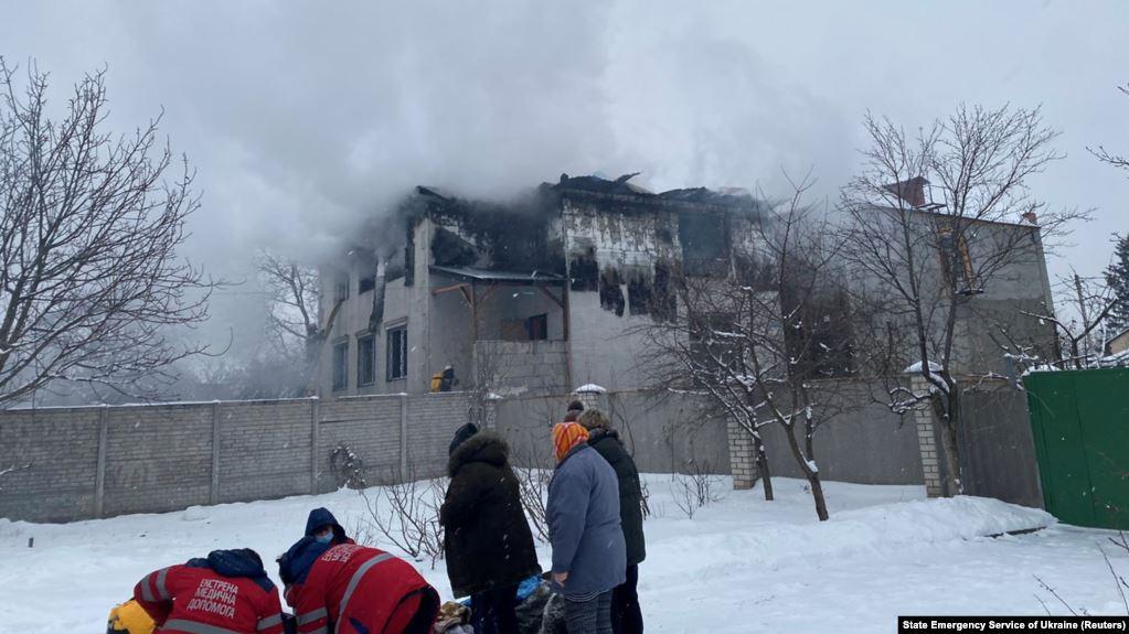 Photo of Пожар в харьковском доме престарелых: 15 погибших