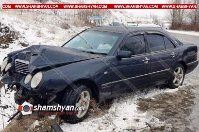 Photo of Ավտովթար Լոռու մարզում․ 51-ամյա վարորդը Mercedes-ով բախվել է կամրջի երկաթե ճաղավանդակին. կան վիրավորներ
