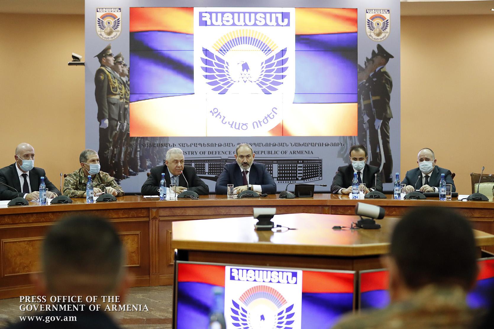Photo of ՊՆ-ում խորհրդակցության ընթացքում քննարկվել են ՀՀ զինված ուժերի առջև ծառացած խնդիրները, մարտահրավերները