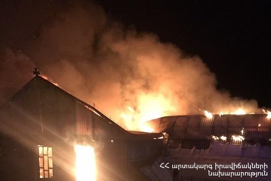 Photo of Հրդեհ Դիլիջան քաղաքում. այրվել է երկհարկանի տան մի հատվածը