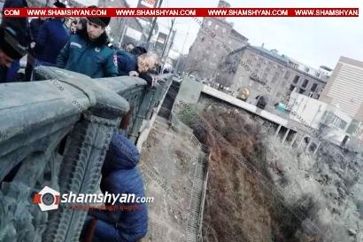 Photo of Արտակարգ դեպք Երևանում. Մի քանի անգամ ինքնասպանության փորձ կատարած տղամարդը հերթական անգամ փորձում էր Կիևյան կամրջից ցած նետվել