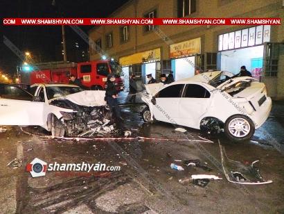 Photo of Խոշոր ավտովթար Երևանում. 16-ամյա վարորդը Infiniti-ով բախվել է ԱԱԾ աշխատակցի Chevrolet-ին. 4 վիրավորները անչափահասներ են