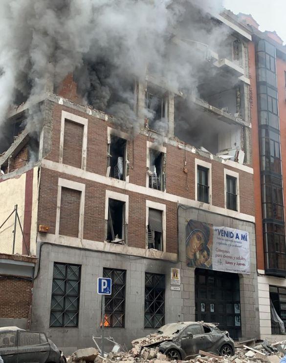 Photo of В Мадриде прогремел мощный взрыв